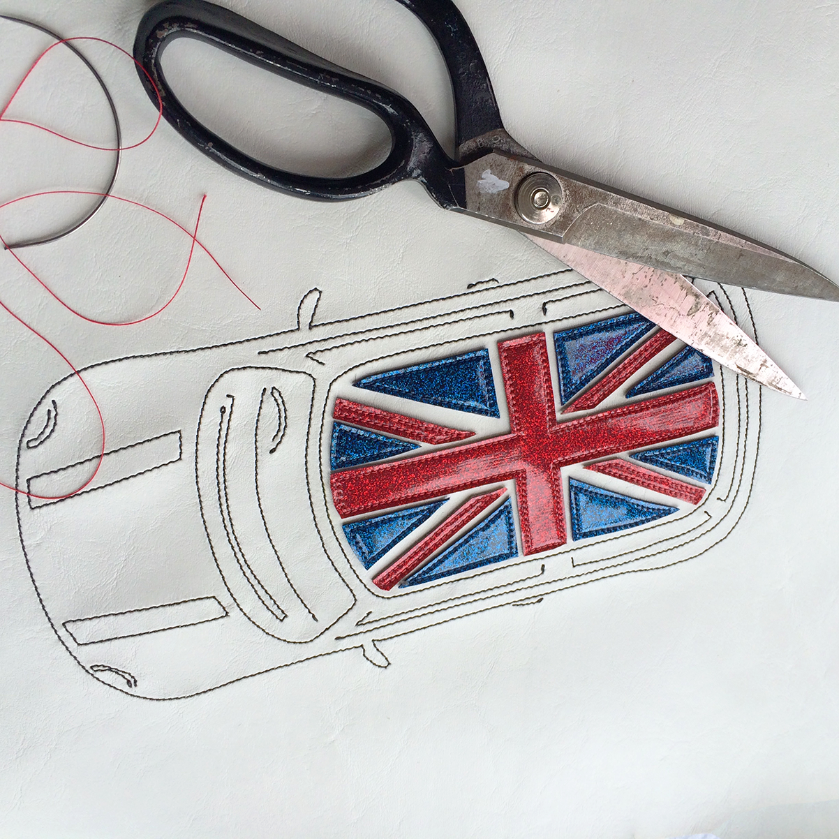 Vincie Mini Union Jack Carryall